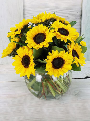 Simply Sunflowers in Arlington Heights IL, Sylvia's - Amlings Flowers