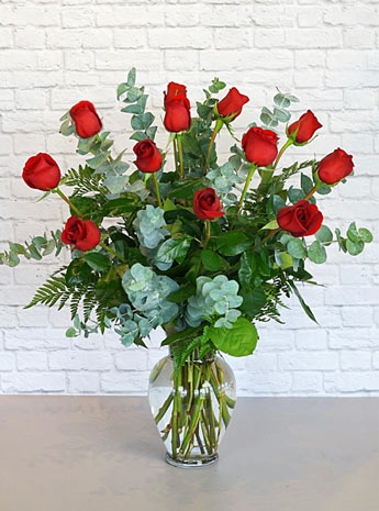 One Dozen Premium Red Roses in Arlington Heights IL, Sylvia's - Amlings Flowers