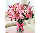 Expression of Pink Bouquet in Pflugerville TX, Bloomin Across Texas