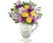 Garden Song Pitcher Bouquet by Nature Nook in Cleves OH, Nature Nook Floral Center