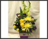 Go Dawgs! Bouquet in Renton WA, Cugini Florists