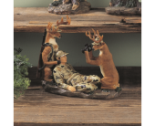 Deer Hunter Say Cheese in Fort Worth TX, Greenwood Florist & Gifts