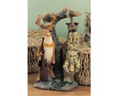 Deer Prize Figurine in Fort Worth TX, Greenwood Florist & Gifts