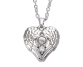 Winged Heart Magnifier Pendant in Fort Worth TX, Greenwood Florist & Gifts