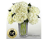 The FTD� Ivory Hydrangea Bouquet by Vera Wang in Wilmington NC, Creative Designs by Jim