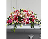 The FTD� Splendid Grace� Casket Spray in Wilmington NC, Creative Designs by Jim