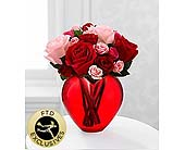 The My Heart to Yours� Rose Bouquet by FTD� in Wilmington NC, Creative Designs by Jim