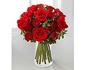 The Red Romance� Rose Bouquet by FTD� in Wilmington NC, Creative Designs by Jim