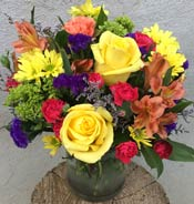 BRIGHT & CONTEMPORARY by Rubrums in Ossining NY, Rubrums Florist Ltd.