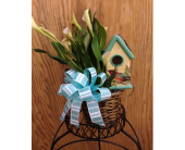 Calla Lily Birdhouse in Wake Forest NC, Wake Forest Florist