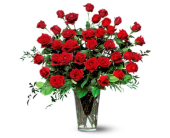 Three Dozen Red Roses in Aventura FL, Aventura Florist