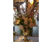 Mercury Glass Urn in Loudonville OH, Four Seasons Flowers & Gifts
