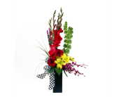 Festive Checkered Flag in Indianapolis IN, McNamara Florist
