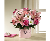 Mesa Flowers - The FTD® Tiny Miracle™ New Baby Girl Bouquet Delux - Fresh Bloomers Flowers & Gifts, Inc.