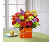 The FTD� Set to Celebrate� Birthday Bouquet in Arizona, AZ, Fresh Bloomers Flowers & Gifts, Inc