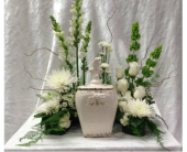 Cremation Urn Tribute 2 in Durham, North Carolina, Flowers By Gary
