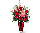Teleflora's Big Red Bouquet in El Cerrito CA, Dream World Floral & Gifts