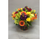 Happy Birthday Bash Bouquet in Chicago IL, La Salle Flowers