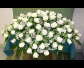 Sympathy Casket Spray 2 in Durham, North Carolina, Flowers By Gary