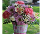 Winchester Flowers - Baby Girl Arrangement - Flowers By Snellings