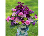 Winchester Flowers - Butterfly Container Arrangement - Flowers By Snellings
