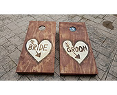 Rustic Cornhole Boards in Loudonville OH, Four Seasons Flowers & Gifts