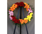 Forever Rose Wreath in Los Angeles, California, Dave's Flowers