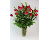 2 Dozen Red Rose Special in Henderson NV, Tiger Lily Floral