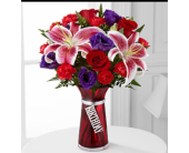Birthday in Red in Aston PA, Wise Originals Florists & Gifts