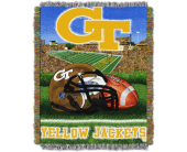 Ga. Tech Throw in Kennesaw GA, Kennesaw Florist