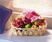 Oval Fruit & Flower Tray in Bound Brook NJ, America's Florist & Gifts