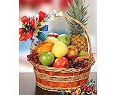 Happy Birthday Fruit Basket in Bound Brook NJ, America's Florist & Gifts