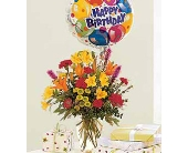 Birthday Bouquet and Balloon in Bound Brook NJ, America's Florist & Gifts