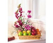 Fruit & Flower Tray in Bound Brook NJ, America's Florist & Gifts