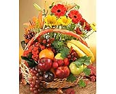 Fruit and Flowers Basket in Bound Brook NJ, America's Florist & Gifts