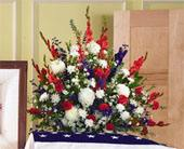 Red/White/Blue Arrangement in Bound Brook NJ, America's Florist & Gifts