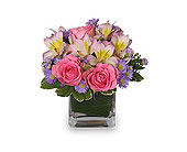 Pretty As You Please Vase in Bound Brook NJ, America's Florist & Gifts