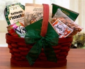 USA - Mini Healthy Snacks Basket in Bound Brook NJ, America's Florist & Gifts