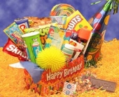 USA - Deluxe Happy Birthday Care Package  in Bound Brook NJ, America's Florist & Gifts