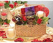 USA - Romantic Evening Gift Basket in Bound Brook NJ, America's Florist & Gifts