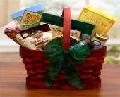 USA - Mini Savory Selection Basket in Bound Brook NJ, America's Florist & Gifts