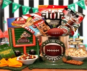 USA -It's  Football Time Gift Pail in Bound Brook NJ, America's Florist & Gifts