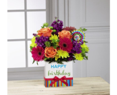 Birthday Brights bouquetThe FTD� Birthday Brights� in Sycamore IL, Kar-Fre Flowers