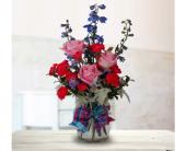 Shelly Plaid Bouquet in Dallas TX, In Bloom Flowers, Gifts and More