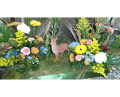 deer/hunting scene in Vineland NJ, Anton's Florist