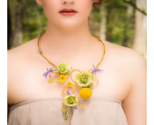 Floral Necklace in Betterton MD, Alluring Flowers