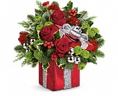 Teleflora's Gift Wrapped Bouquet in Monroe MI, North Monroe Floral Boutique