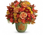 Teleflora's Heart Of Fall Bouquet in Edmonton AB, Petals For Less Ltd.