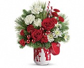 Teleflora's Snow Day Bouquet in Port St Lucie FL, Flowers By Susan