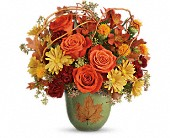 Teleflora's Turning Leaves Bouquet in Edmonton AB, Petals For Less Ltd.